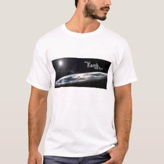 Flache Erdgesellschaft T-Shirt