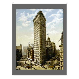Flaches Eisen-Gebäude New York City, NY 1903 Vinta Postkarte