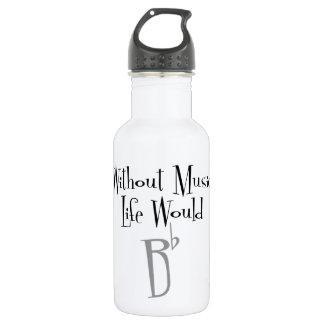 Flaches Wasser-Flasche B Edelstahlflasche