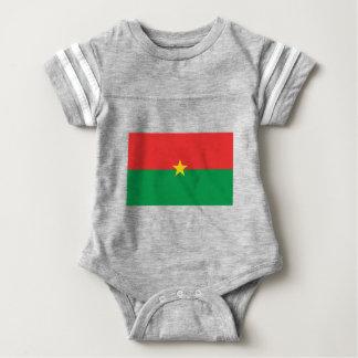 flag_burkina_farso baby strampler