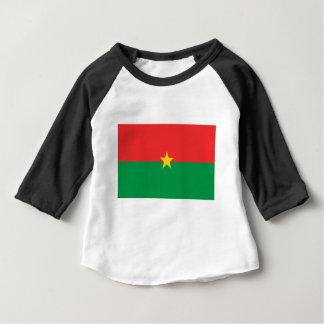 flag_burkina_farso baby t-shirt