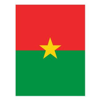 flag_burkina_farso postkarte