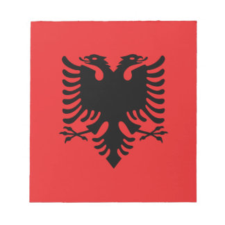Flag_of_Albania Notizblock