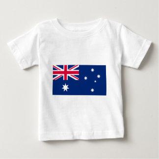 Flag_of_Australia_ (umgewandelt) Baby T-shirt