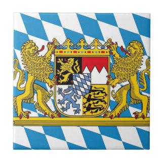 Flag of Bavaria Fliese