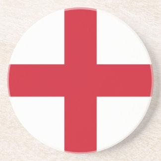 Flag_of_England Getränkeuntersetzer