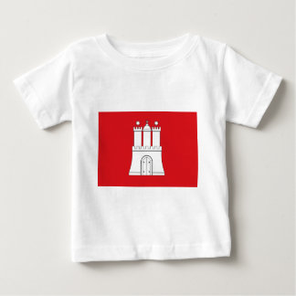 Flag_of_Hamburg Baby T-shirt