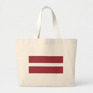 Flag_of_Latvia Jumbo Stoffbeutel