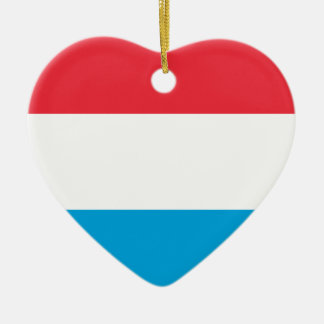 Flag_of_Luxembourg Keramik Ornament