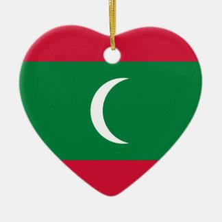 Flag_of_Maldives Keramik Ornament