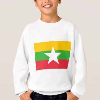 Flag_of_Myanmar Sweatshirt