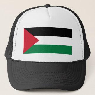 Flag_of_Palestine Truckerkappe