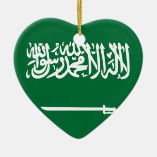 Flag_of_Saudi_Arabia Keramik Ornament