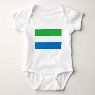 Flag_of_Sierra_Leone Baby Strampler