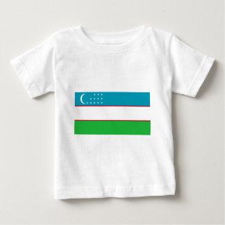 Flag_of_Uzbekistan Baby T-shirt