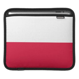 Flaga Polski - polnische Flagge iPad Sleeve