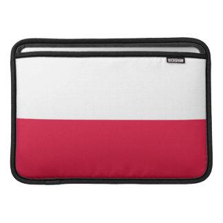 Flaga Polski - polnische Flagge MacBook Air Sleeve