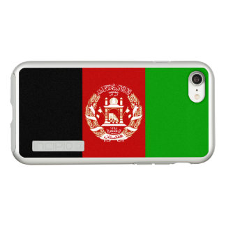 Flagge Afghanistan silbernen iPhone Falles