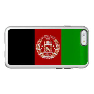 Flagge Afghanistan silbernen iPhone Falles Incipio Feather® Shine iPhone 6 Hülle