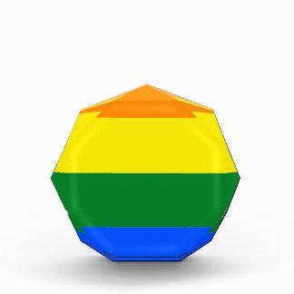 Flagge Alabamas LGBT Acryl Auszeichnung