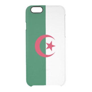 Flagge Algerien klaren iPhone Falles Durchsichtige iPhone 6/6S Hülle