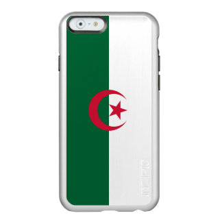 Flagge Algerien silbernen iPhone Falles Incipio Feather® Shine iPhone 6 Hülle