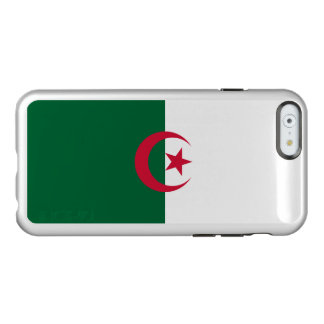 Flagge Algerien silbernen iPhone Falles Incipio Feather® Shine iPhone 6 Hülle
