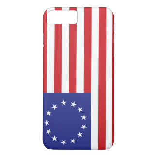 Flagge Betsy Ross 13-Star US iPhone 8 Plus/7 Plus Hülle