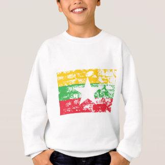 Flagge Birmas Myanmar Sweatshirt