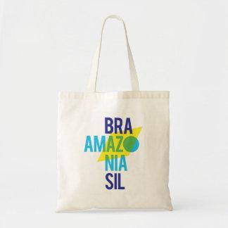 Flagge Brasiliens Amazonas-Gebiet Tragetasche