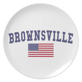 Flagge Brownsvilles US Party Teller
