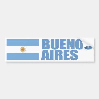 Flagge Buenos Aires, Argentinien Autoaufkleber