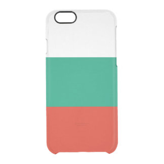 Flagge Bulgarien klaren iPhone Falles Durchsichtige iPhone 6/6S Hülle