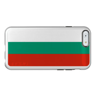Flagge Bulgarien silbernen iPhone Falles Incipio Feather® Shine iPhone 6 Hülle