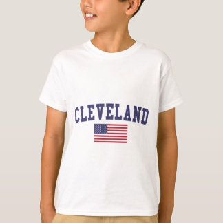 Flagge Clevelands OH- US T-Shirt