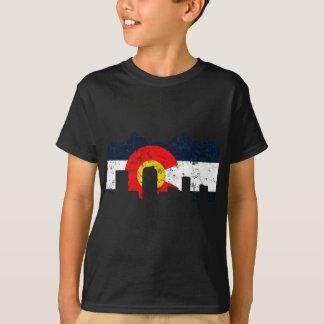 Flagge Denvers Colorado T-Shirt