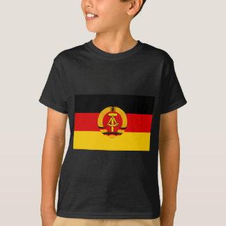 Flagge der DDR - Flagge der DDR (Ostdeutschland) T-Shirt