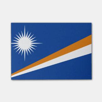 Flagge der die Marshallinseln Posten-it® Post-it Klebezettel