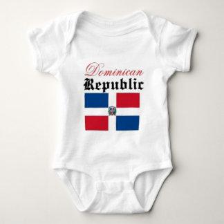 Flagge der Dominikanischen Republik Baby Strampler