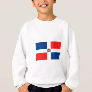 Flagge der Dominikanischen Republik Sweatshirt