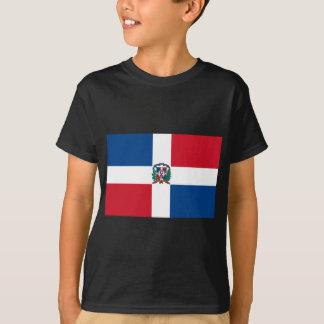 Flagge der Dominikanischen Republik T-Shirt