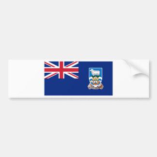 Flagge der Falklandinseln - Gewerkschafts-Jack Autoaufkleber