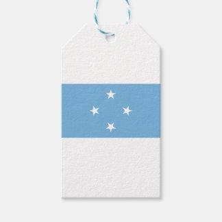 Flagge der Federated States of Micronesia Geschenkanhänger