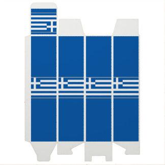 Flagge der Griechenland-Wein-Geschenkboxen Wein-Geschenkverpackung