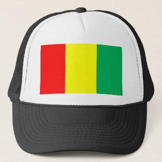 Flagge der Guinea Truckerkappe