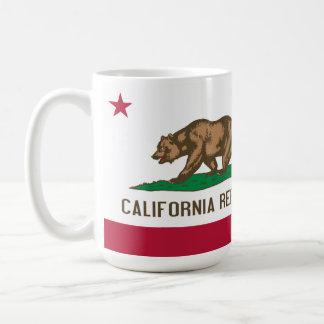 Flagge der Kalifornien-Kaffee-Tee-Tasse Tasse