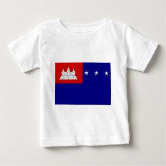 Flagge der Khmer-Republik (សាធារណរដ្ឋខ្មែរ) Baby T-shirt