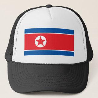 Flagge der Koreanischen Volksrepublik Truckerkappe