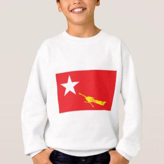 Flagge der nationalen Liga für Demokratie Sweatshirt
