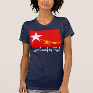 Flagge der nationalen Liga für Demokratie T-Shirt